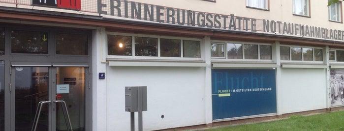 Erinnerungsstätte Notaufnahmelager Marienfelde is one of 1 | 111 Orte in Berlin die man gesehen haben muss.