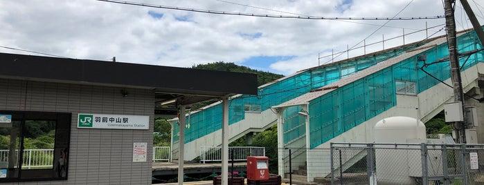 Uzen-Nakayama Station is one of JR 미나미토호쿠지방역 (JR 南東北地方の駅).