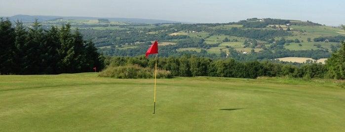 Disley Golf Course is one of Tempat yang Disukai Tristan.