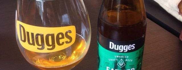 Dugges Bryggeri AB is one of Beer / Ratebeer's Top 100 Brewers [2017].