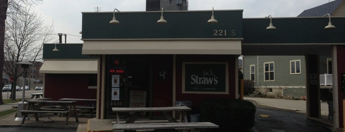 Jack Straw's Pizza, Burgers, Wings & Catering is one of Posti salvati di James.