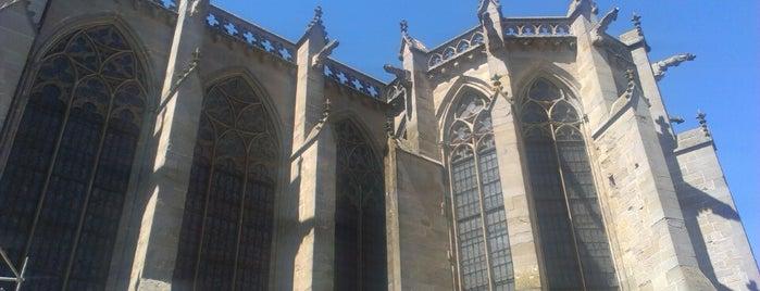 Basilique Saint-Nazaire is one of Lugares favoritos de Luciana.