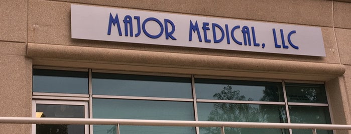 "MAJOR MEDICAL, LLC is one of ""Been there, done that.""."