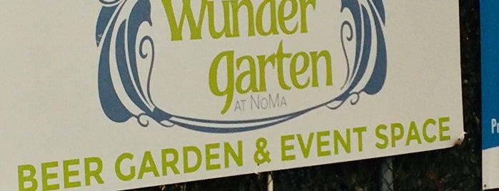 Wunder Garten is one of John'un Kaydettiği Mekanlar.