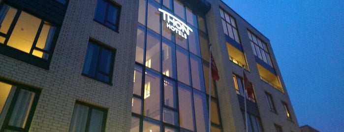 Thon Hotel Nordlys is one of Elena: сохраненные места.
