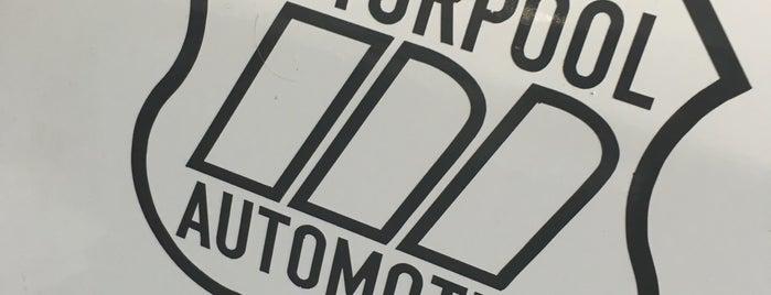 Motorpool Automotive is one of Lugares favoritos de Theron.