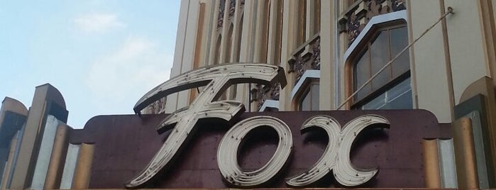 Fox Theatre is one of Going Back To Cali...Again.