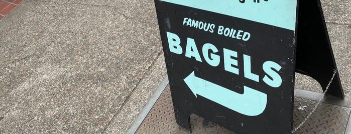 Henry Higgins Boiled Bagels is one of Oregon.