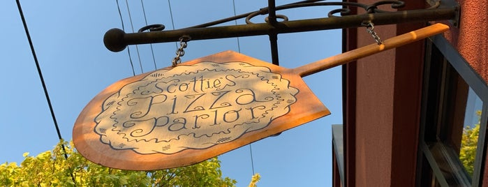 Scottie's Pizza Parlor is one of uwishunu portland.