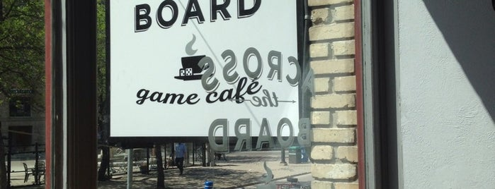 Across The Board is one of Board Game Cafes.