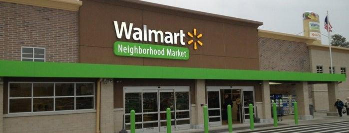 Walmart Neighborhood Market is one of Tempat yang Disukai Rachel.