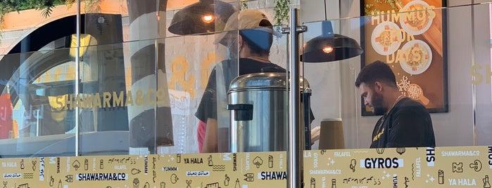 Shawarma & Co. is one of DFW <-> OKC.