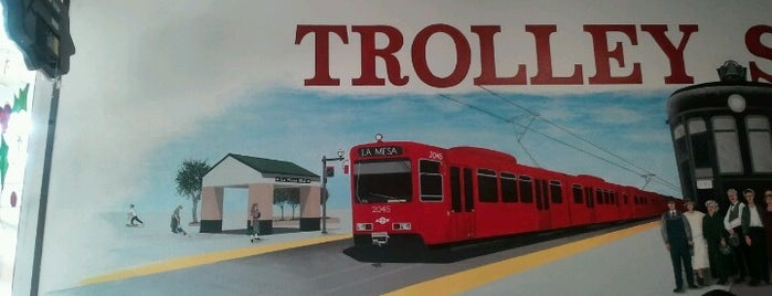La Mesa Trolley Stop Deli is one of Good Eats San Diego.