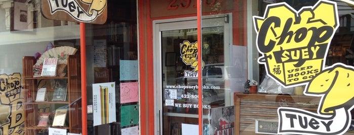 Chop Suey Books is one of Mugel Wedding.