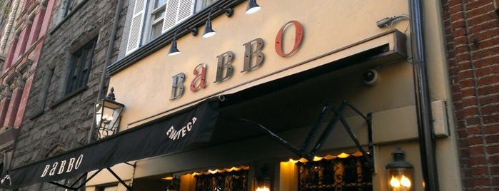 Babbo Ristorante e Enoteca is one of nyc.