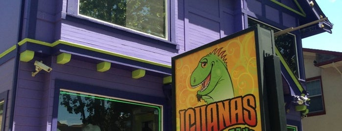 Iguanas Taqueria is one of Must try foods!.