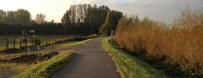 Scheldedijk Gentbrugge-Melle is one of Posti che sono piaciuti a Jo.