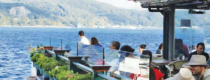 Göze Sarıyer Teras is one of The 10 Best Restaurants with a View in Istanbul.
