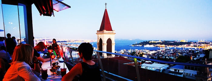 360 İstanbul is one of The 10 Best Restaurants with a View in Istanbul.