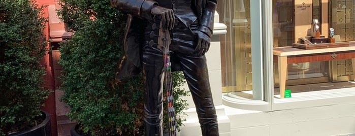 Philip P Lynott Statue is one of Ireland.