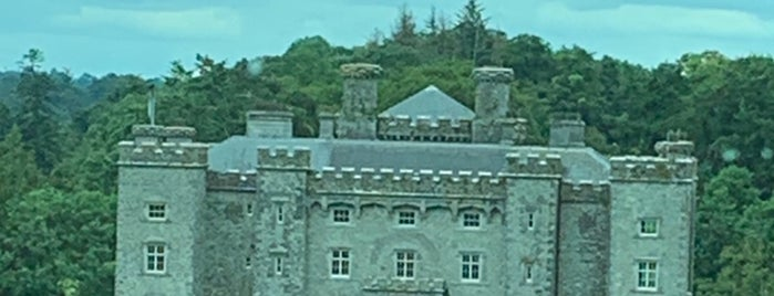 Slane Castle is one of Northern Ireland + Ireland.