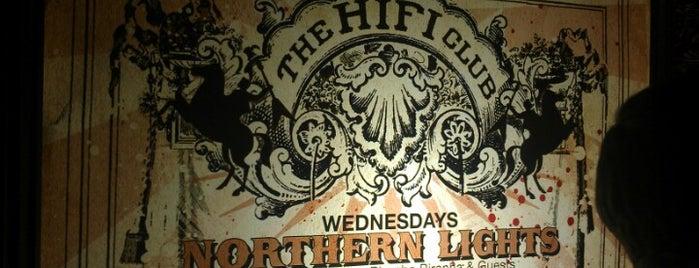The HiFi Club is one of Orte, die Mitchell gefallen.
