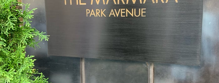 The Marmara Park Avenue is one of NYC.