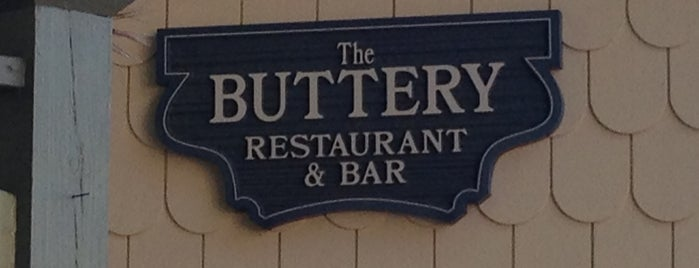 The Buttery Restaurant is one of Beach Eats.
