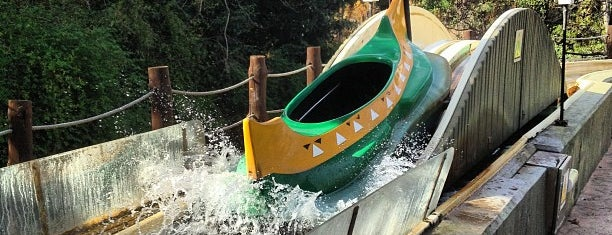 Canoes is one of PortAventura.