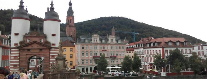 Altstadt is one of Heidelberg.