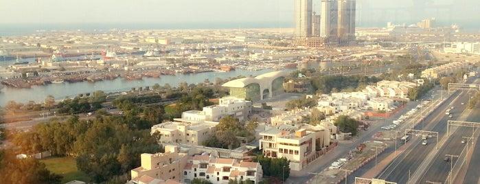 Ramada by Wyndham Abu Dhabi Corniche is one of สถานที่ที่ JOY ถูกใจ.