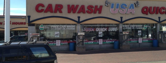 USA Car Wash & Quick Lube is one of DaSH 님이 좋아한 장소.