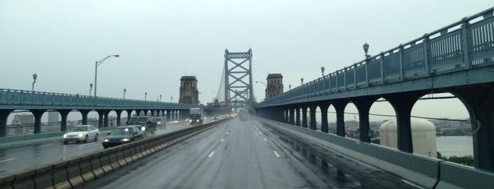 Benjamin Franklin Bridge Walkway is one of Philly todo.