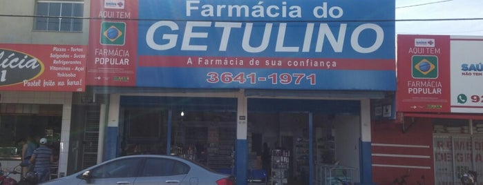 Farmácia do Getulino is one of Fernandoさんのお気に入りスポット.