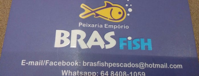Peixaria BRAS Fish is one of Mercado 153.