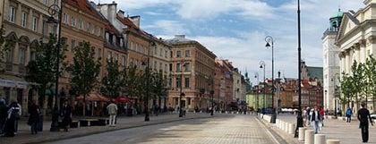 Krakowskie Przedmieście is one of Варшава - онлайн путеводитель.