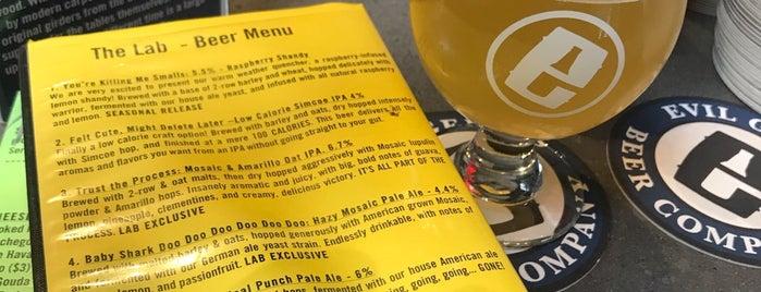 Evil Genius Beer Company is one of Locais curtidos por Campbell.