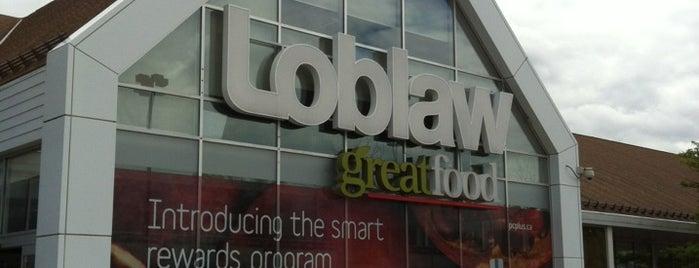 Loblaws is one of Locais curtidos por Mazen.