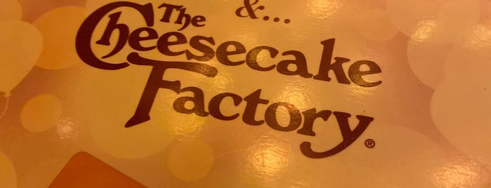 The Cheesecake Factory is one of Cerca de mi.