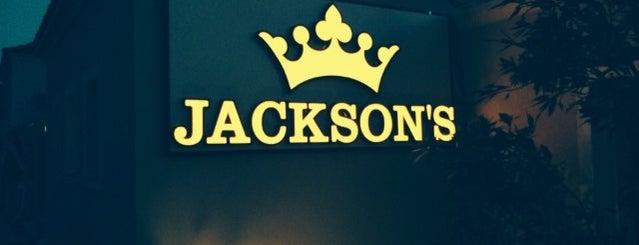 Jackson's is one of Gülcan'ın Beğendiği Mekanlar.