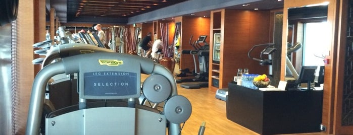 Mandarin Oriental Fitness Center is one of Yoga.