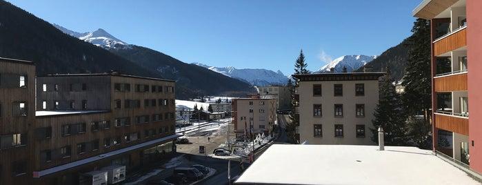 Grischa - DAS Hotel Davos is one of Tempat yang Disukai Christine.