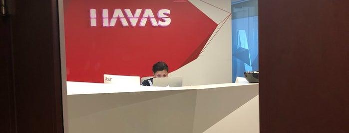Havas Media International Miami is one of Tempat yang Disukai Vane.