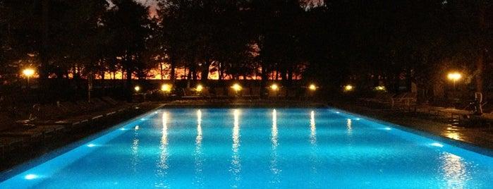 Подогреваемый бассейн и джакузи is one of สถานที่ที่ Koroleva ถูกใจ.