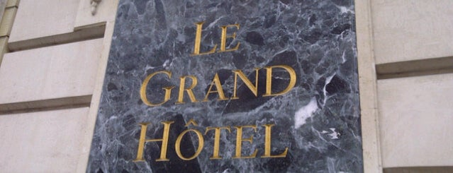 InterContinental Paris Le Grand Hôtel is one of Oriettaさんの保存済みスポット.