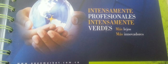 OpenMarket - CILOG Centro Internacional Logistico is one of Thaly 님이 저장한 장소.