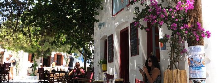 Ήλιος is one of Amorgos.