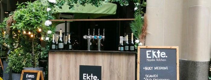 Ekte Nordic Kitchen is one of Favorite London (Notion).