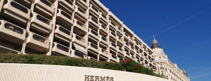 Hermès is one of French Riviera.