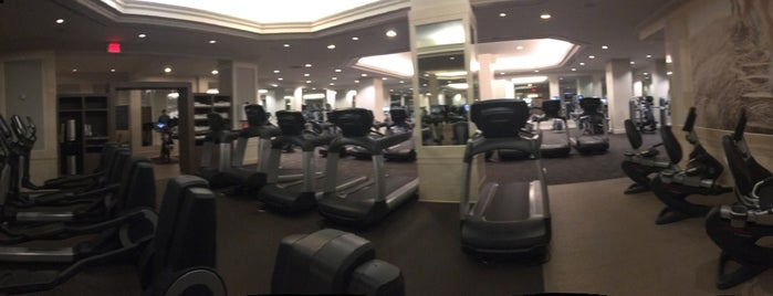 Westin St Francis Health Club & Spa is one of Layover Hotel Gyms.